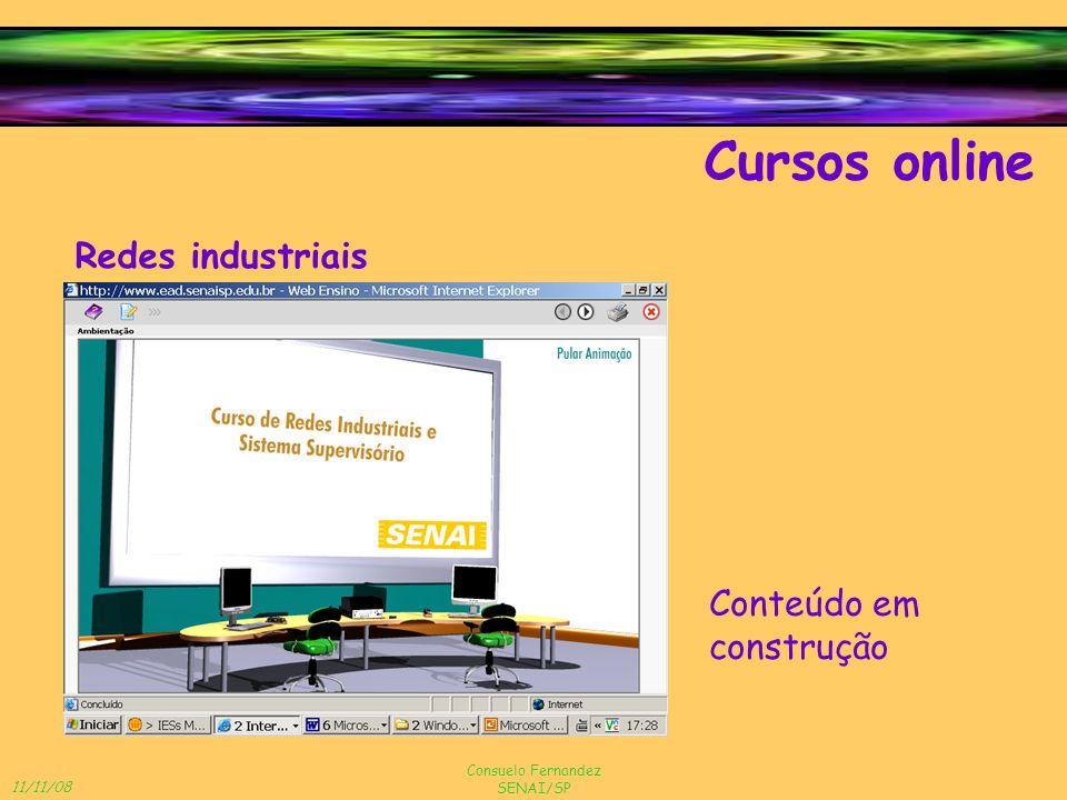 Cursos online Redes industriais Conteúdo em construção