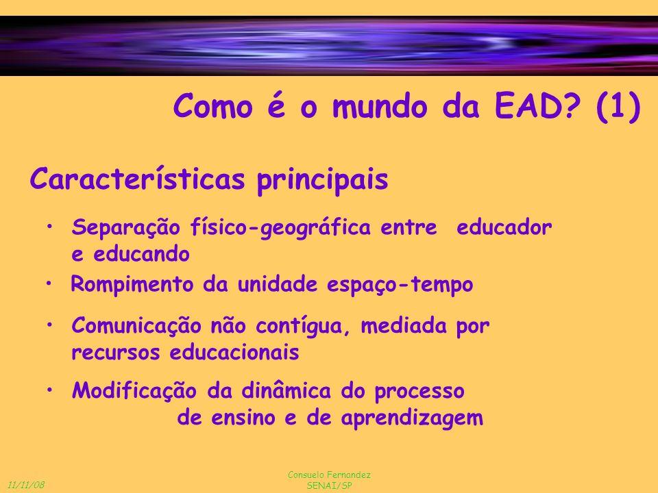 Como é o mundo da EAD (1) Características principais