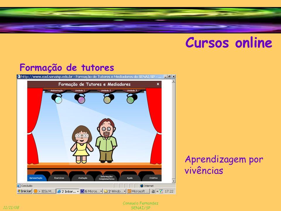 Cursos online Formação de tutores Aprendizagem por vivências