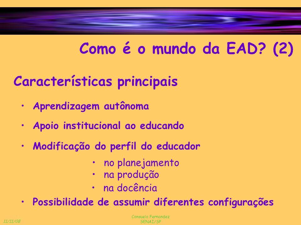 Como é o mundo da EAD (2) Características principais