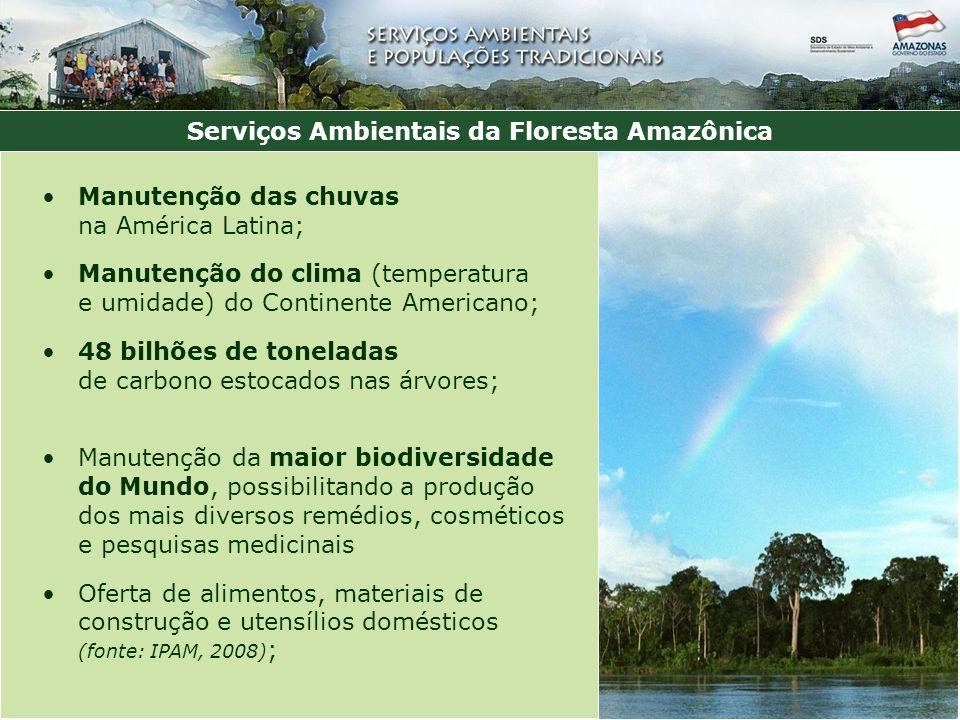 Serviços Ambientais da Floresta Amazônica