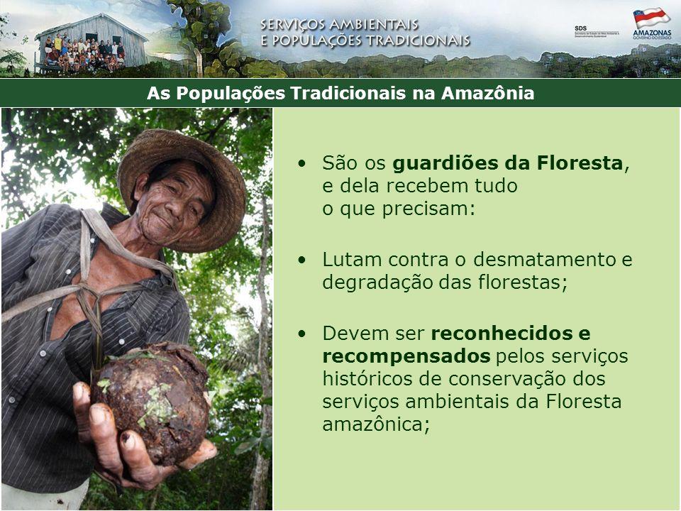 As Populações Tradicionais na Amazônia