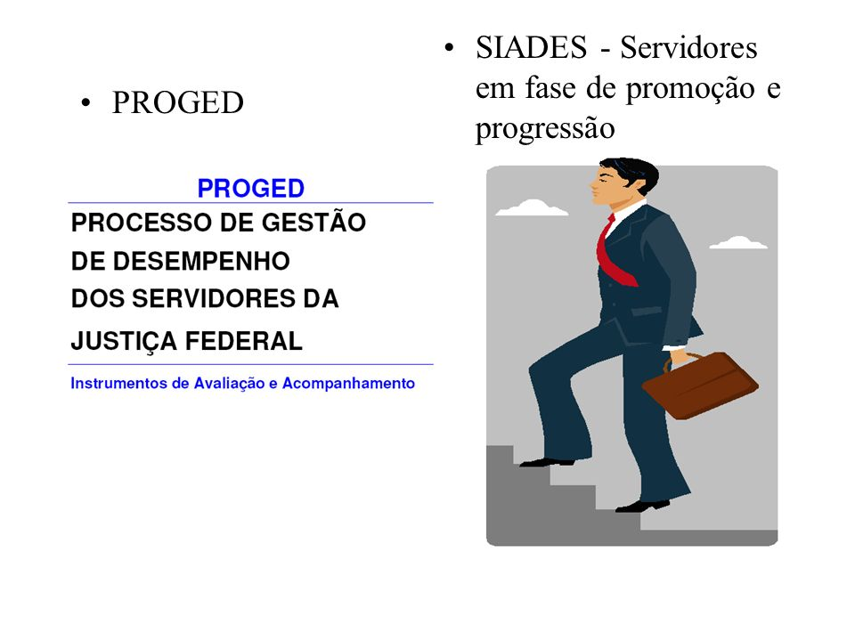 SIADES - Servidores em fase de promoção e progressão