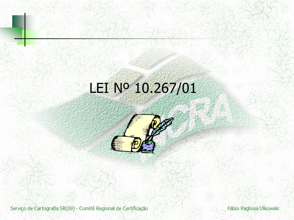 LEI Nº 10.267/01