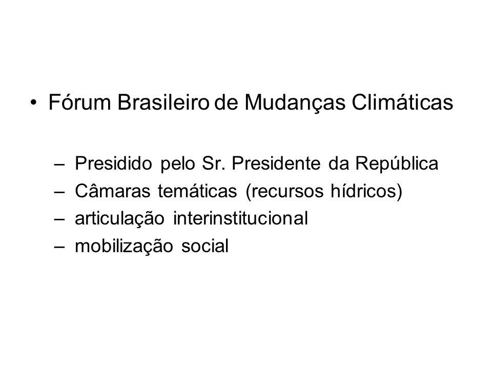 Fórum Brasileiro de Mudanças Climáticas