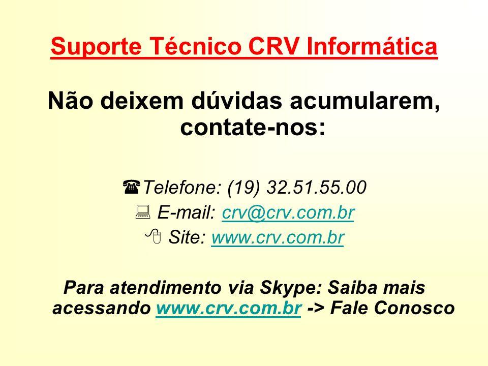 Suporte Técnico CRV Informática