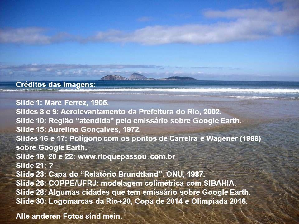 Créditos das imagens: Slide 1: Marc Ferrez, 1905. Slides 8 e 9: Aerolevantamento da Prefeitura do Rio, 2002.