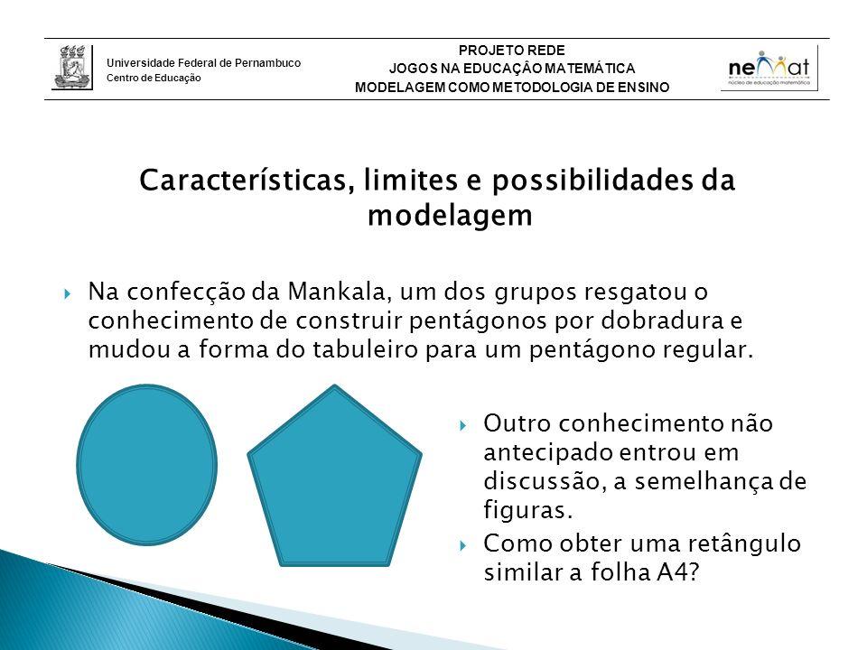 Características, limites e possibilidades da modelagem