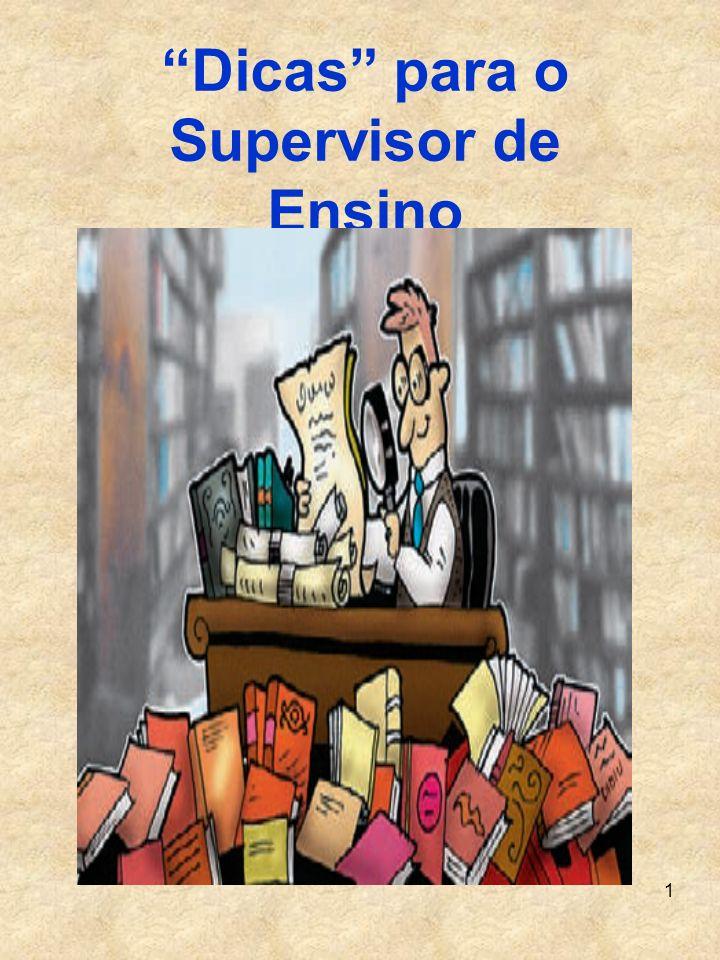Dicas para o Supervisor de Ensino