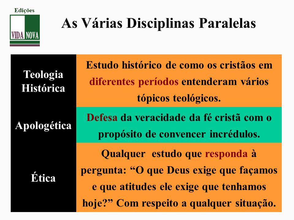 As Várias Disciplinas Paralelas
