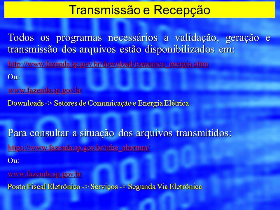 Transmissão e Recepção