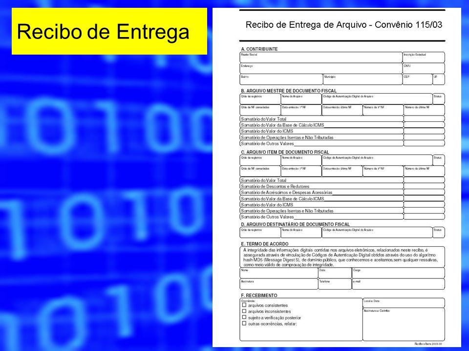Recibo de Entrega