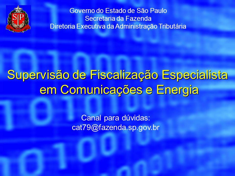 Supervisão de Fiscalização Especialista em Comunicações e Energia
