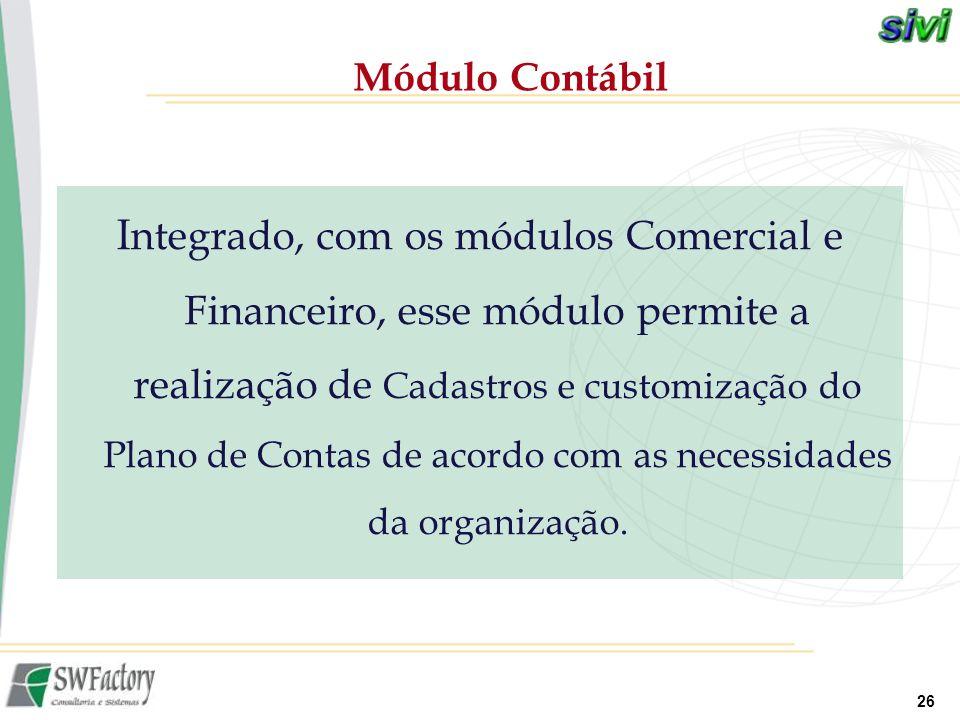 Módulo Contábil