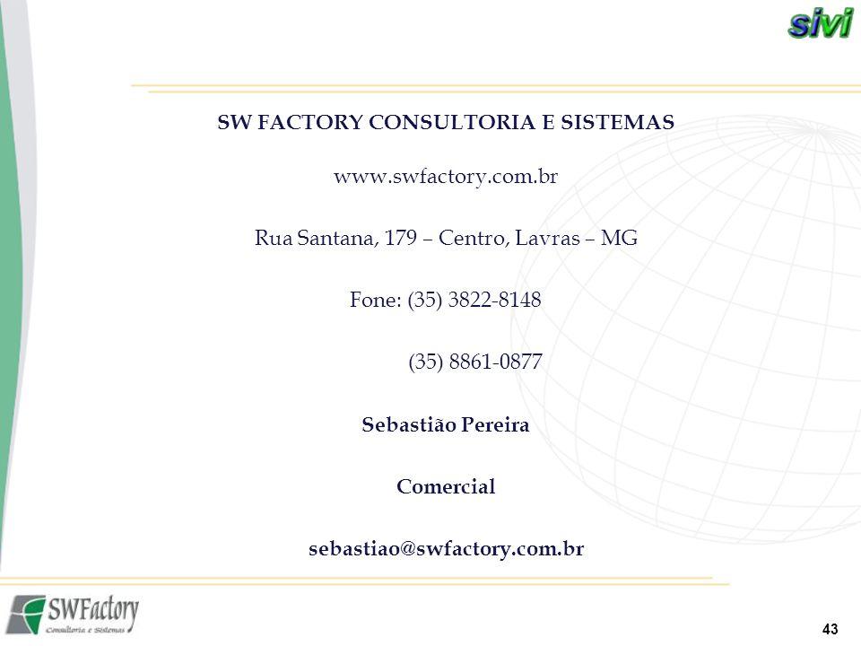 SW FACTORY CONSULTORIA E SISTEMAS