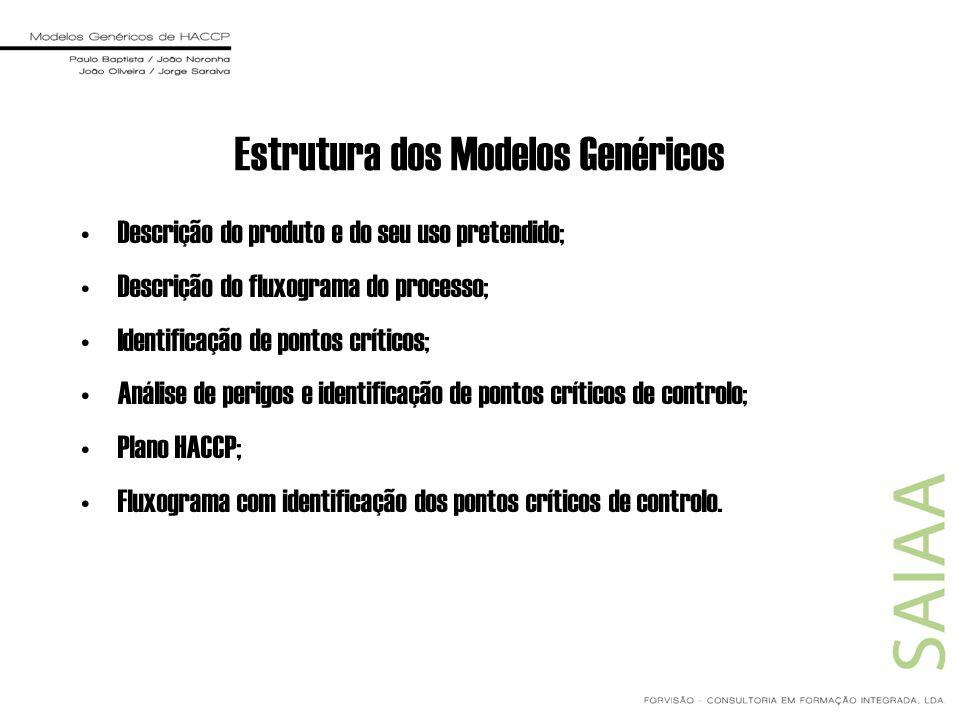 Estrutura dos Modelos Genéricos