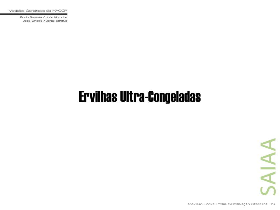 Ervilhas Ultra-Congeladas