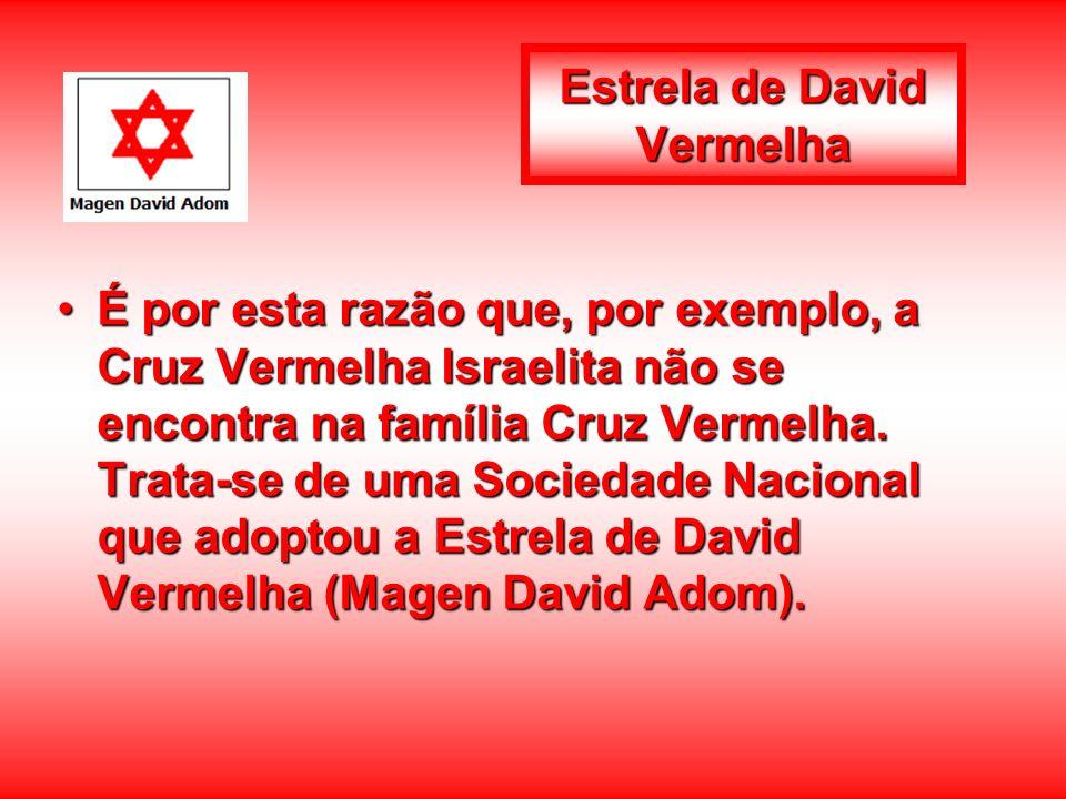 Estrela de David Vermelha