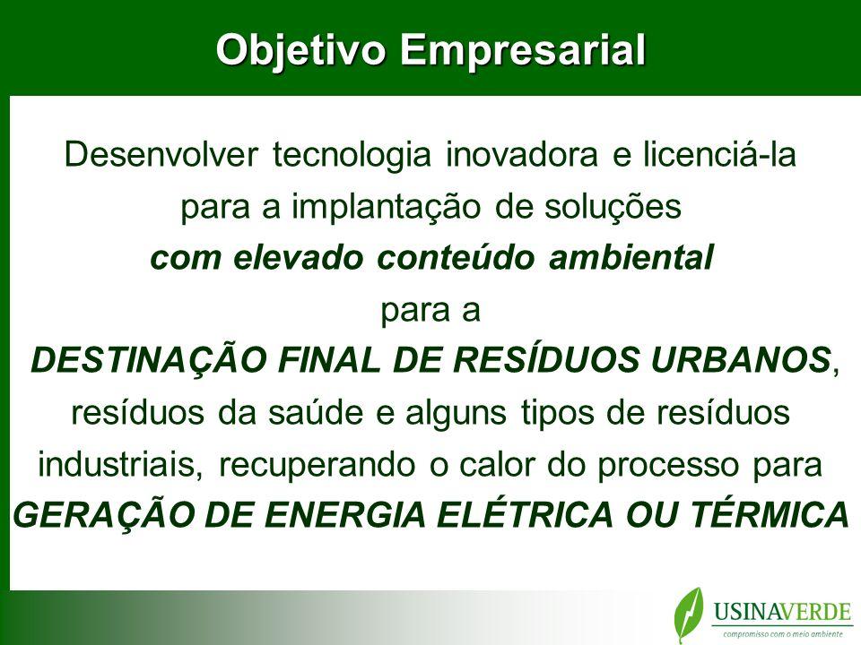 GERAÇÃO DE ENERGIA ELÉTRICA OU TÉRMICA