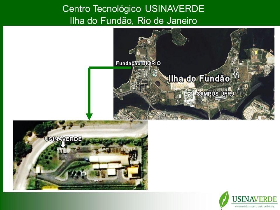 Centro Tecnológico USINAVERDE Ilha do Fundão, Rio de Janeiro