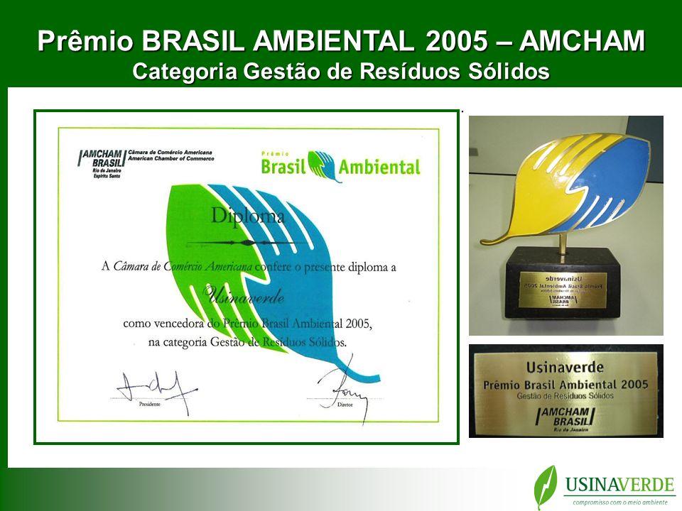 Prêmio BRASIL AMBIENTAL 2005 – AMCHAM