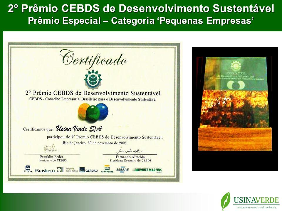2º Prêmio CEBDS de Desenvolvimento Sustentável