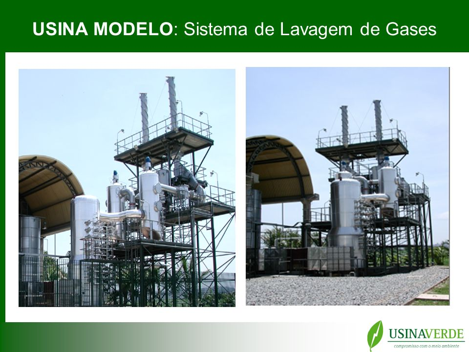 USINA MODELO: Sistema de Lavagem de Gases