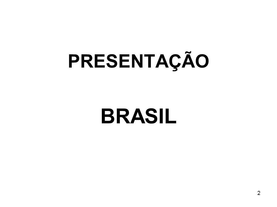 PRESENTAÇÃO BRASIL