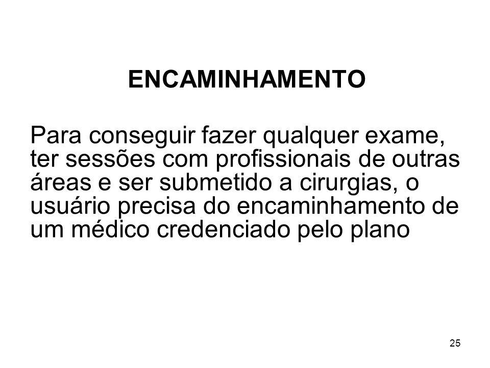 ENCAMINHAMENTO