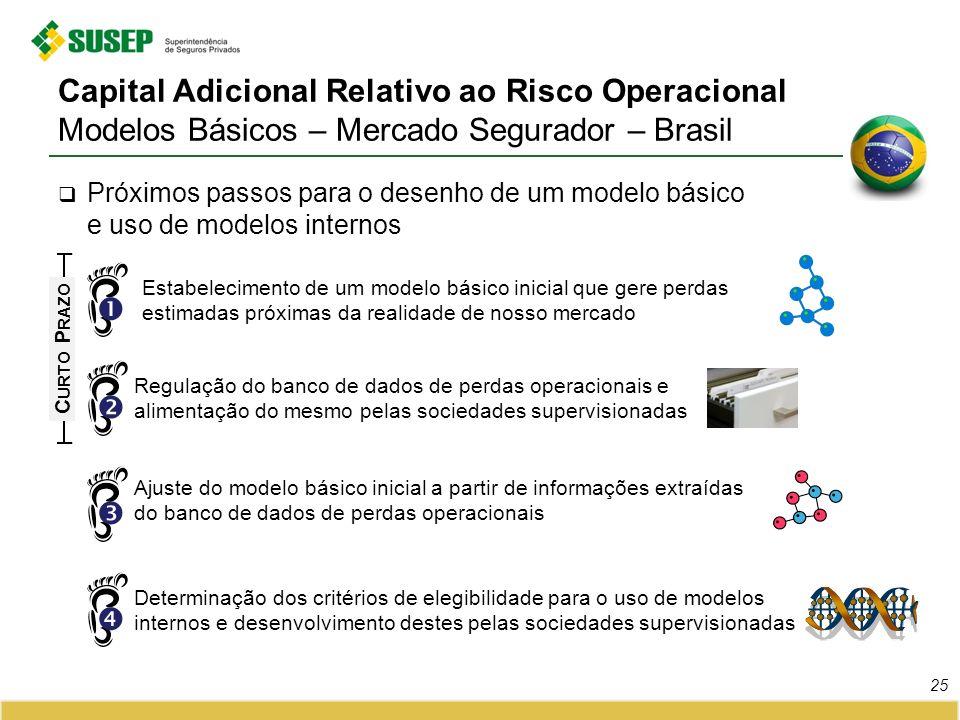 Capital Adicional Relativo ao Risco Operacional Modelos Básicos – Mercado Segurador – Brasil
