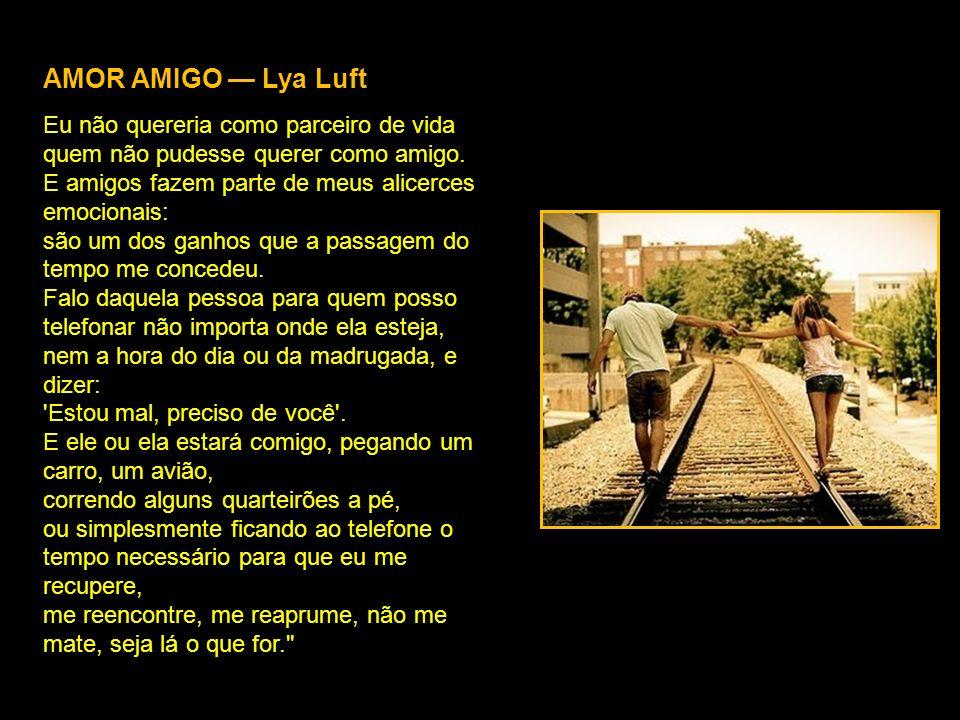 AMOR AMIGO — Lya Luft