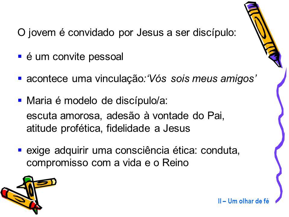 O jovem é convidado por Jesus a ser discípulo: é um convite pessoal