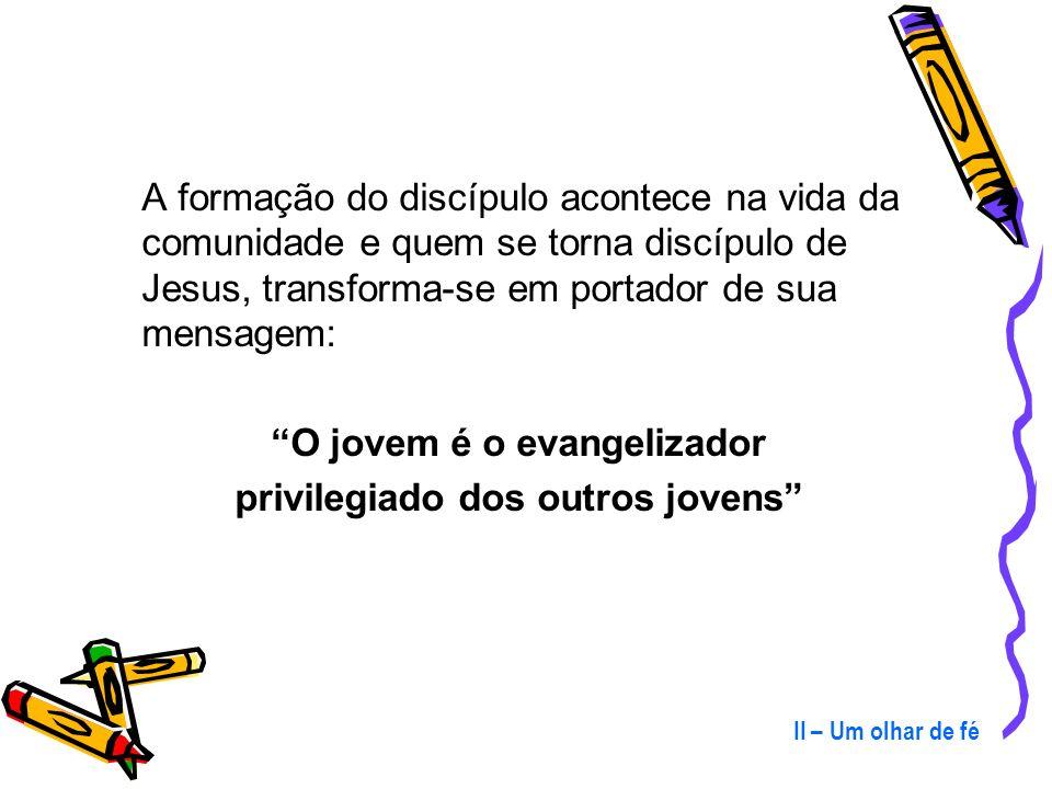 O jovem é o evangelizador privilegiado dos outros jovens