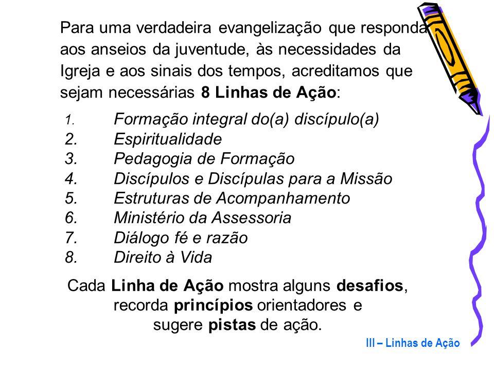 Discípulos e Discípulas para a Missão Estruturas de Acompanhamento