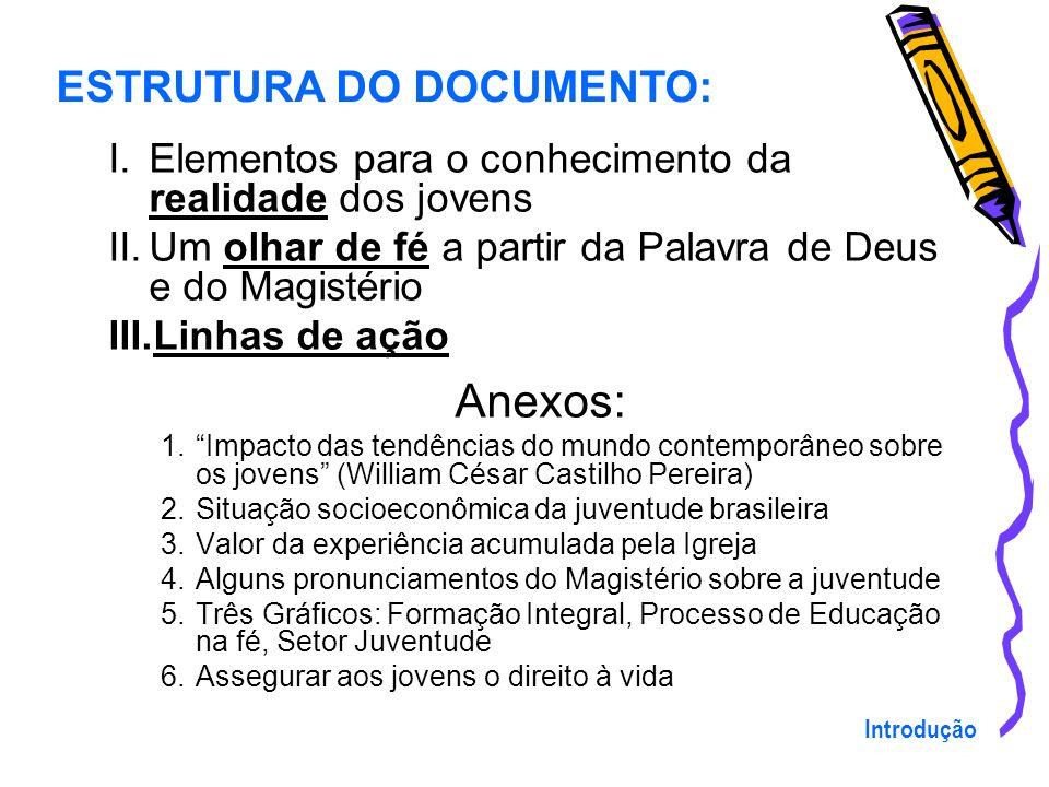 Anexos: ESTRUTURA DO DOCUMENTO: