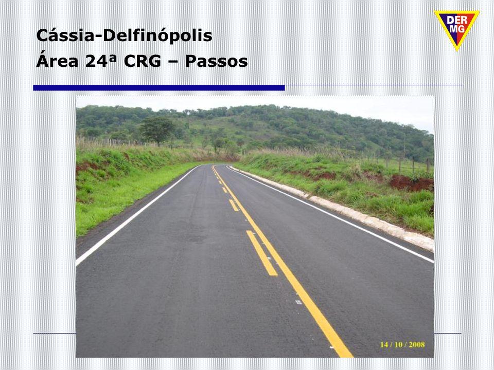 Cássia-Delfinópolis Área 24ª CRG – Passos