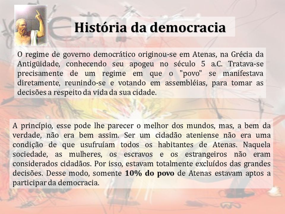 História da democracia