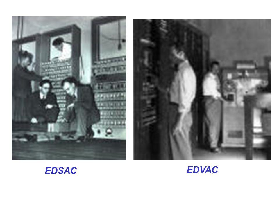 EDSAC EDVAC
