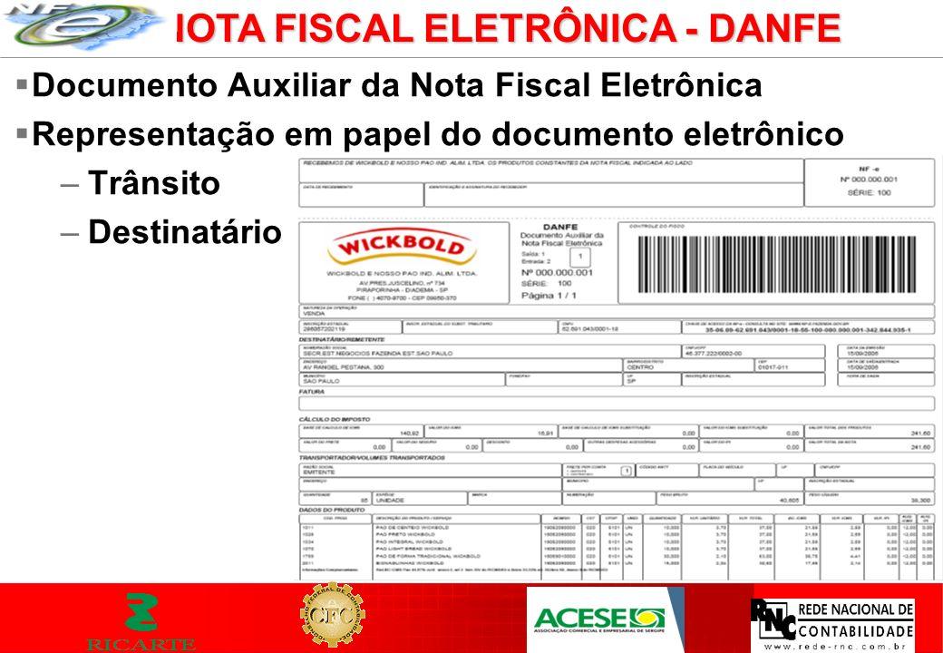 NOTA FISCAL ELETRÔNICA - DANFE