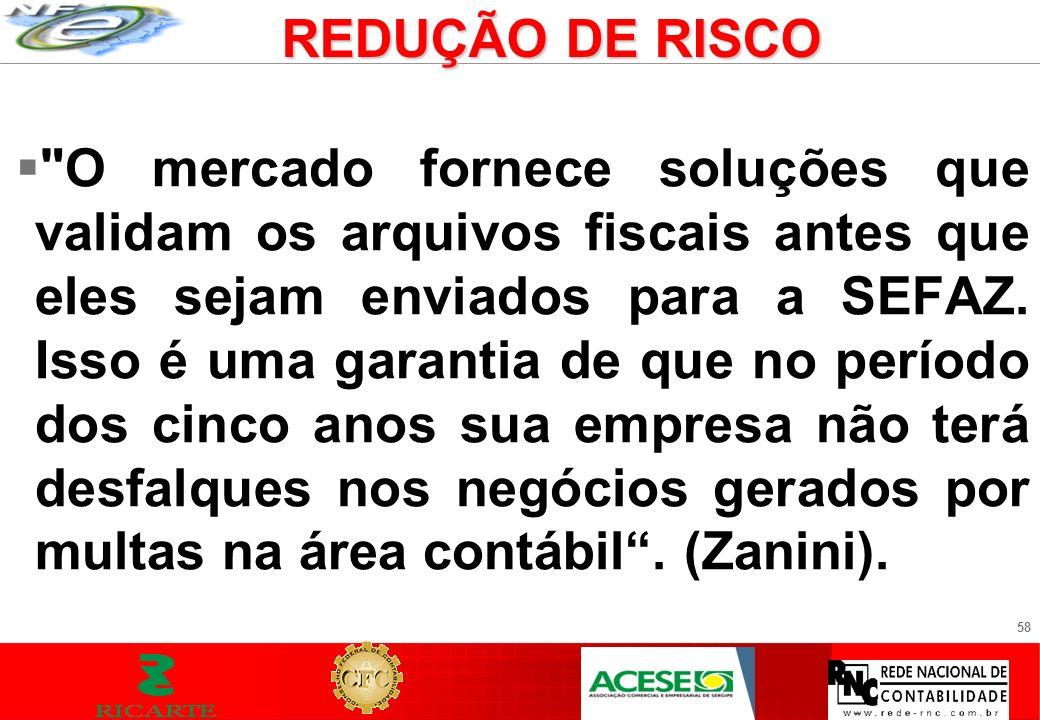 REDUÇÃO DE RISCO