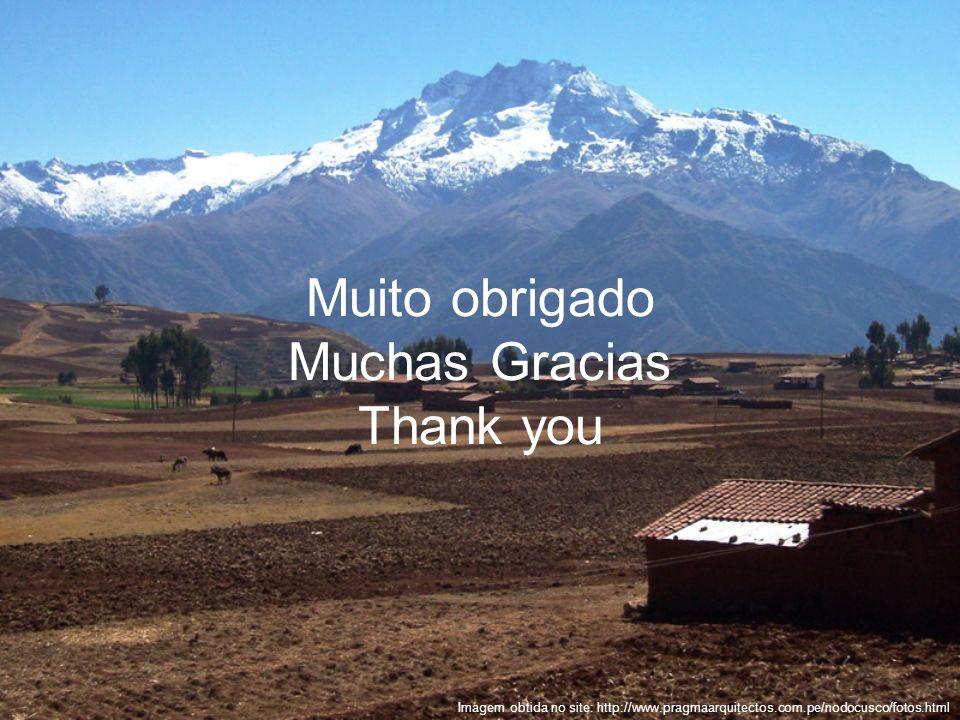 Muito obrigado Muchas Gracias Thank you