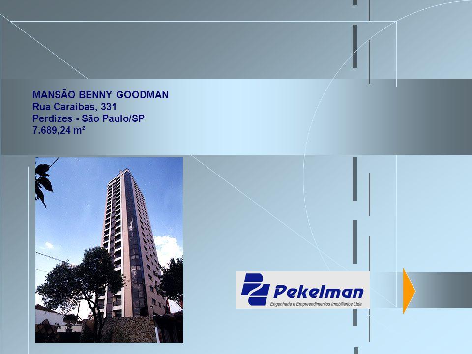 MANSÃO BENNY GOODMAN Rua Caraibas, 331 Perdizes - São Paulo/SP 7.689,24 m²