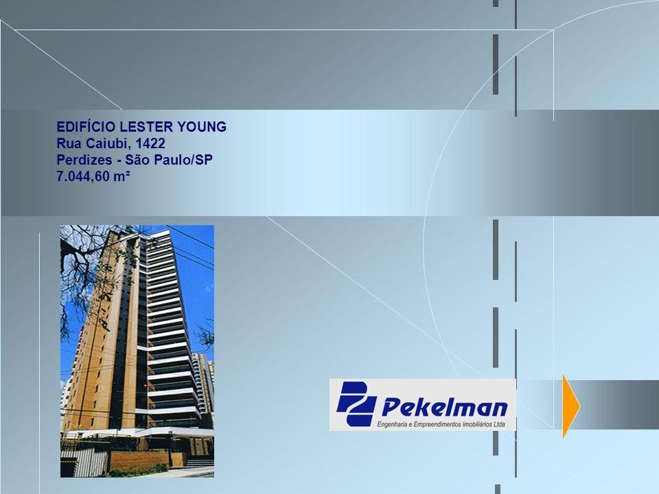 EDIFÍCIO LESTER YOUNG Rua Caiubi, 1422 Perdizes - São Paulo/SP 7.044,60 m²