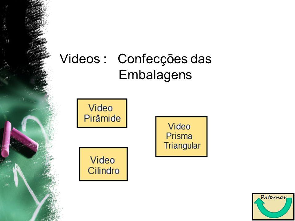 Videos : Confecções das Embalagens
