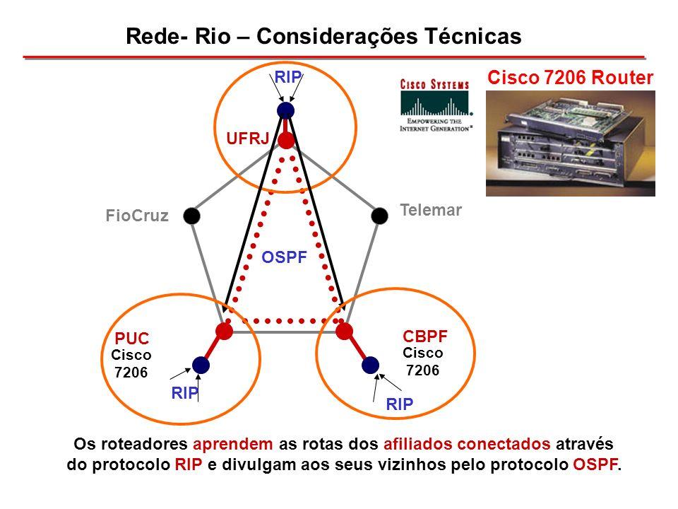 Rede- Rio – Considerações Técnicas