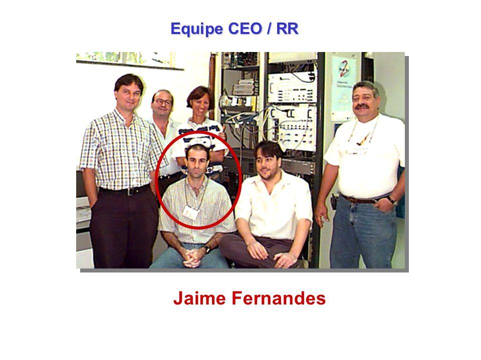 Equipe CEO / RR Jaime Fernandes