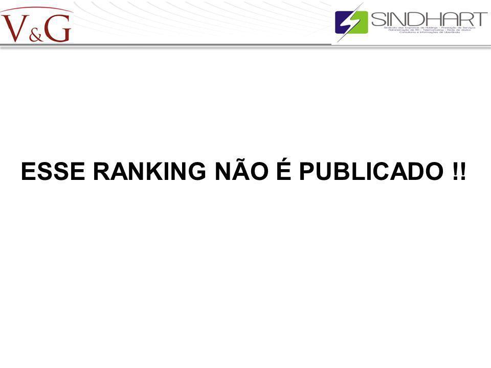 ESSE RANKING NÃO É PUBLICADO !!