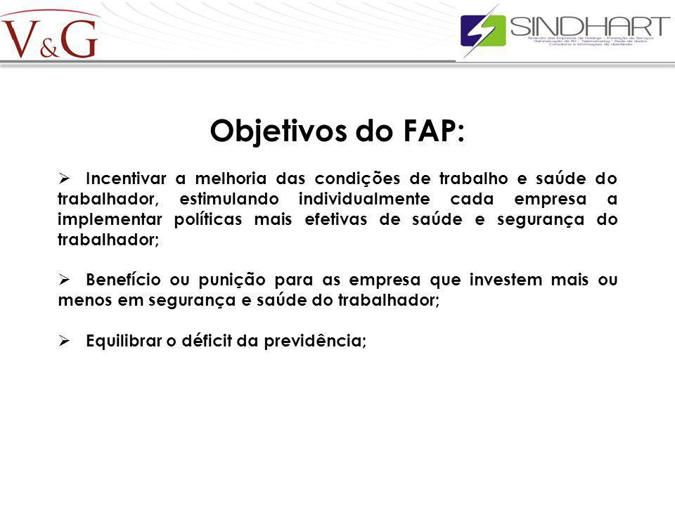 Objetivos do FAP: