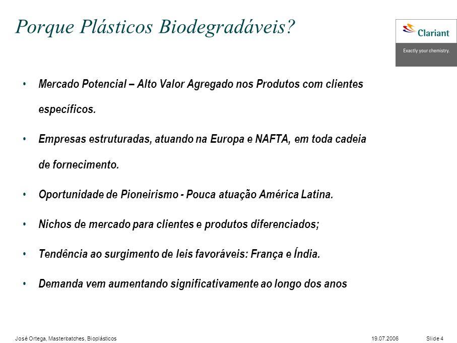 Porque Plásticos Biodegradáveis