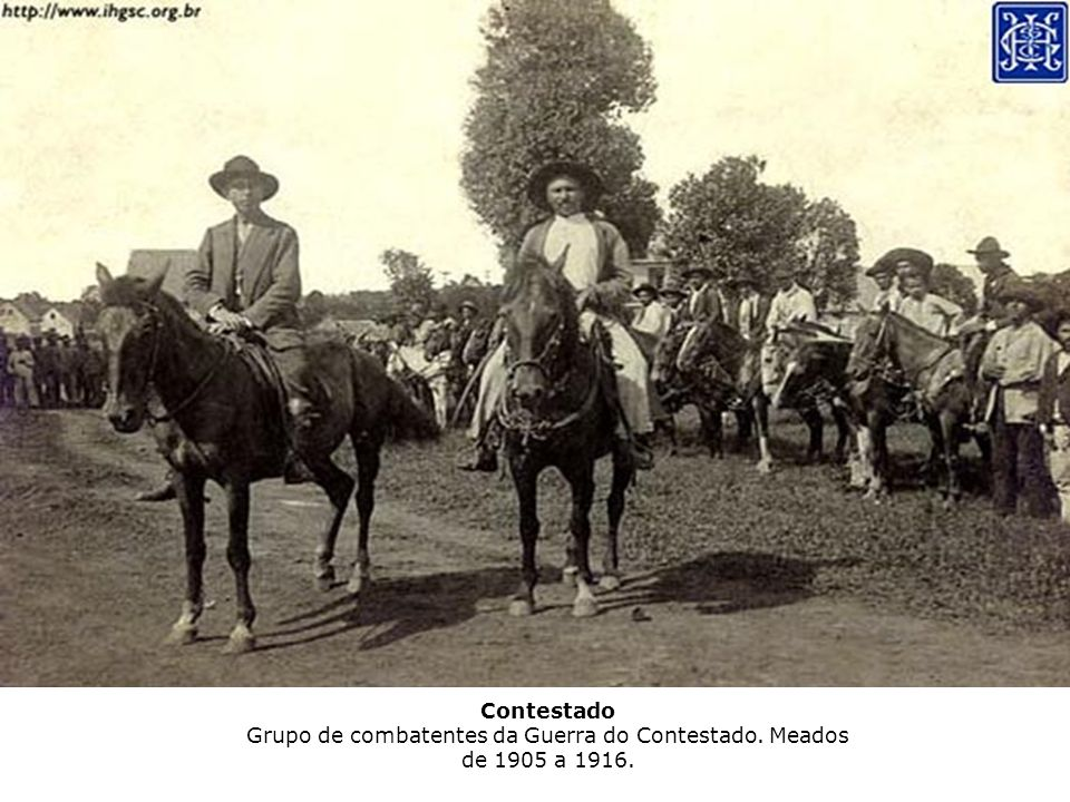 Contestado Grupo de combatentes da Guerra do Contestado